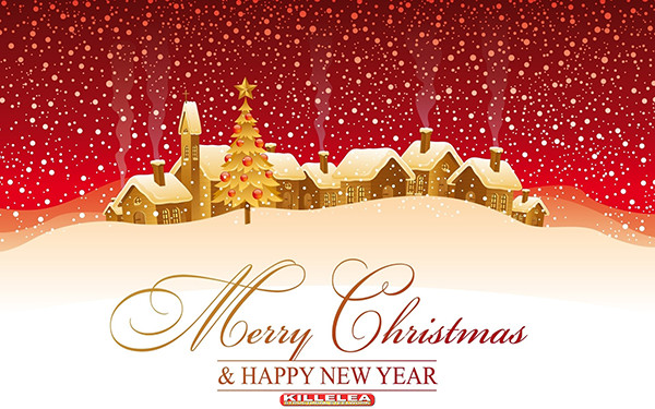 MERRY CHRISTMAS AND A VERY HAPPY NEW YEAR